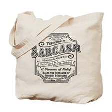 Old Tyme Sarcasm Tote Bag