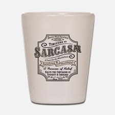 Old Tyme Sarcasm Shot Glass