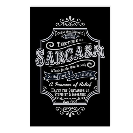 Old Tyme Sarcasm Postcards (Package of 8)