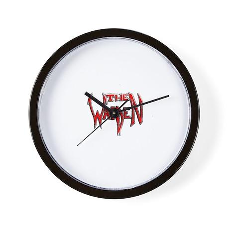 The Warden Wall Clock