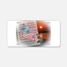 A Soldier's Prayer Aluminum License Plate