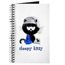 sleepy kitty Journal