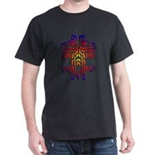 Native American Art PNW02 :: Black T-Shirt