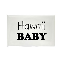 Hawaii baby Rectangle Magnet