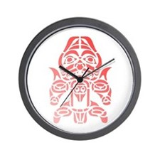 Unique Native american indian pacific northwest Wall Clock