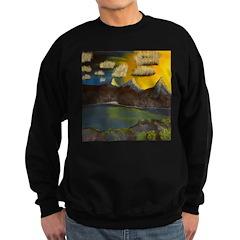 Valley Lake sunset Sweatshirt