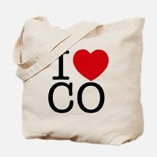 I Heart Colorado Tote Bag
