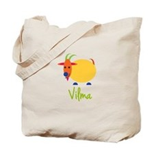 Vilma The Capricorn Goat Tote Bag