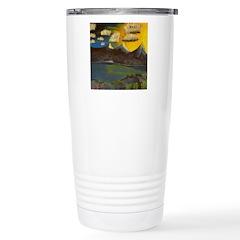 Valley Lake sunset decor/gift Travel Mug