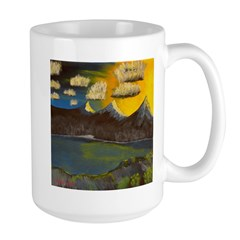 Valley Lake sunset decor/gift Mug