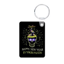Happy New Year Pants Keychains