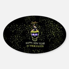 Happy New Year Pants Decal
