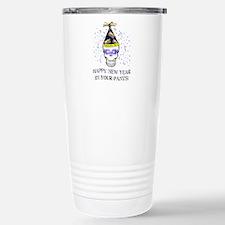 Happy New Year Pants Travel Mug
