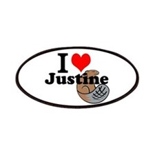 justine beaver Patches