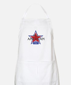 All American Triplet Dad BBQ Apron