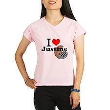 justine beaver Performance Dry T-Shirt