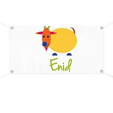 Enid The Capricorn Goat Banner