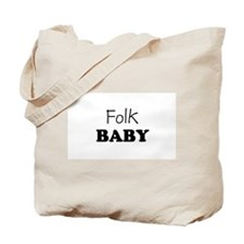 Folk baby Tote Bag