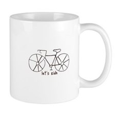 """Let's Ride"" Drinkware Mug"