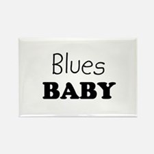 Blues baby Rectangle Magnet