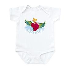 My Heart Has Wings Infant Bodysuit