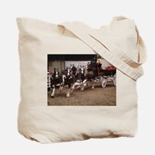 Clydesdale Four-Horse Hitch Tote Bag
