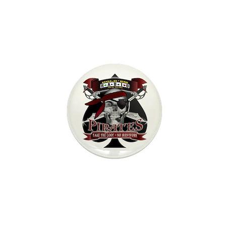 pirate logo Mini Button (100 pack)