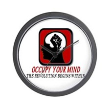 Occupy you Mind Wall Clock