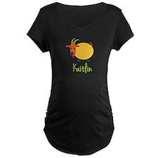 Kaitlin The Capricorn Goat T-Shirt