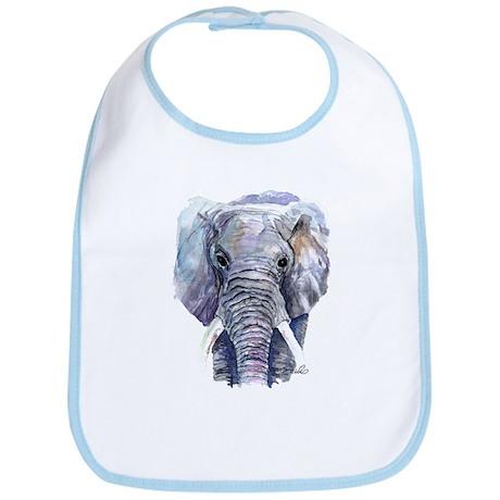Ellie the Elephant Bib