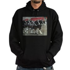 Clydesdale Four-Horse Hitch Hoodie