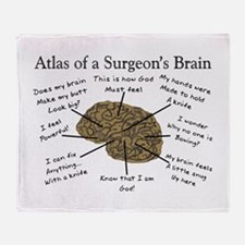 Physicians/Surgeons Throw Blanket