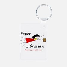 Cool Librarians Keychains