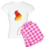 Gamecock Pea Comb Women's Light Pajamas