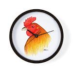 Gamecock Pea Comb Wall Clock