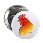 """Gamecock Pea Comb 2.25"""" Button (10 pack)"""