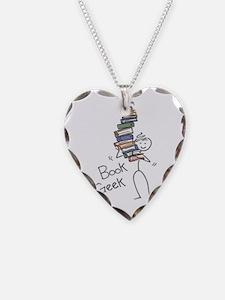 Unique Books Necklace