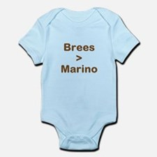 Brees Greater than Marino Infant Bodysuit