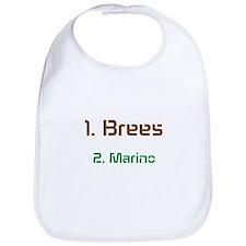 No1 brees No2 Marino Bib