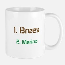 No1 brees No2 Marino Mug
