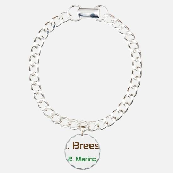 No1 brees No2 Marino Bracelet
