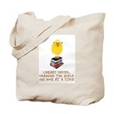 Library Canvas Totes