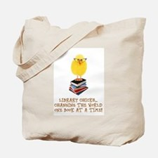 Unique Library Tote Bag