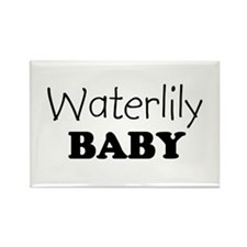 Waterlily baby Rectangle Magnet