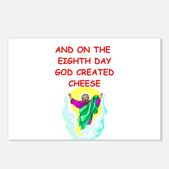 cheese Postcards (Package of 8)