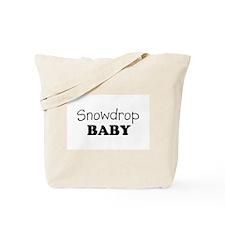Snowdrop baby Tote Bag