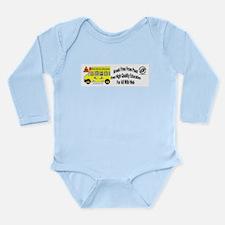 School Free 202B Long Sleeve Infant Bodysuit