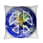 Peace on Earth Everyday Pillow
