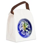 Peace on Earth Canvas Lunch Bag