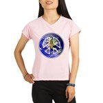 Peace on Earth Performance Dry T-Shirt